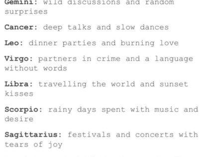 Zodiac Signs Relationship Missions